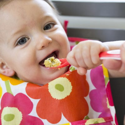 "Chicken ""Stew"" Recipe + Tips for Feeding Babies"