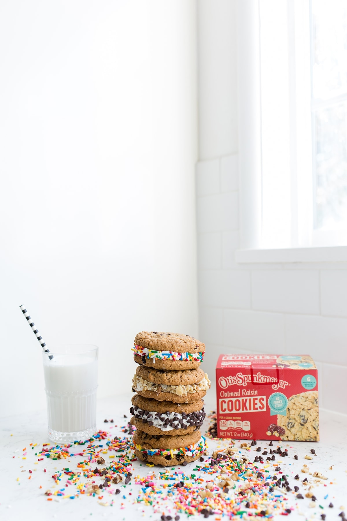 Oatmeal Cookie Sandwiches to Make with Kids