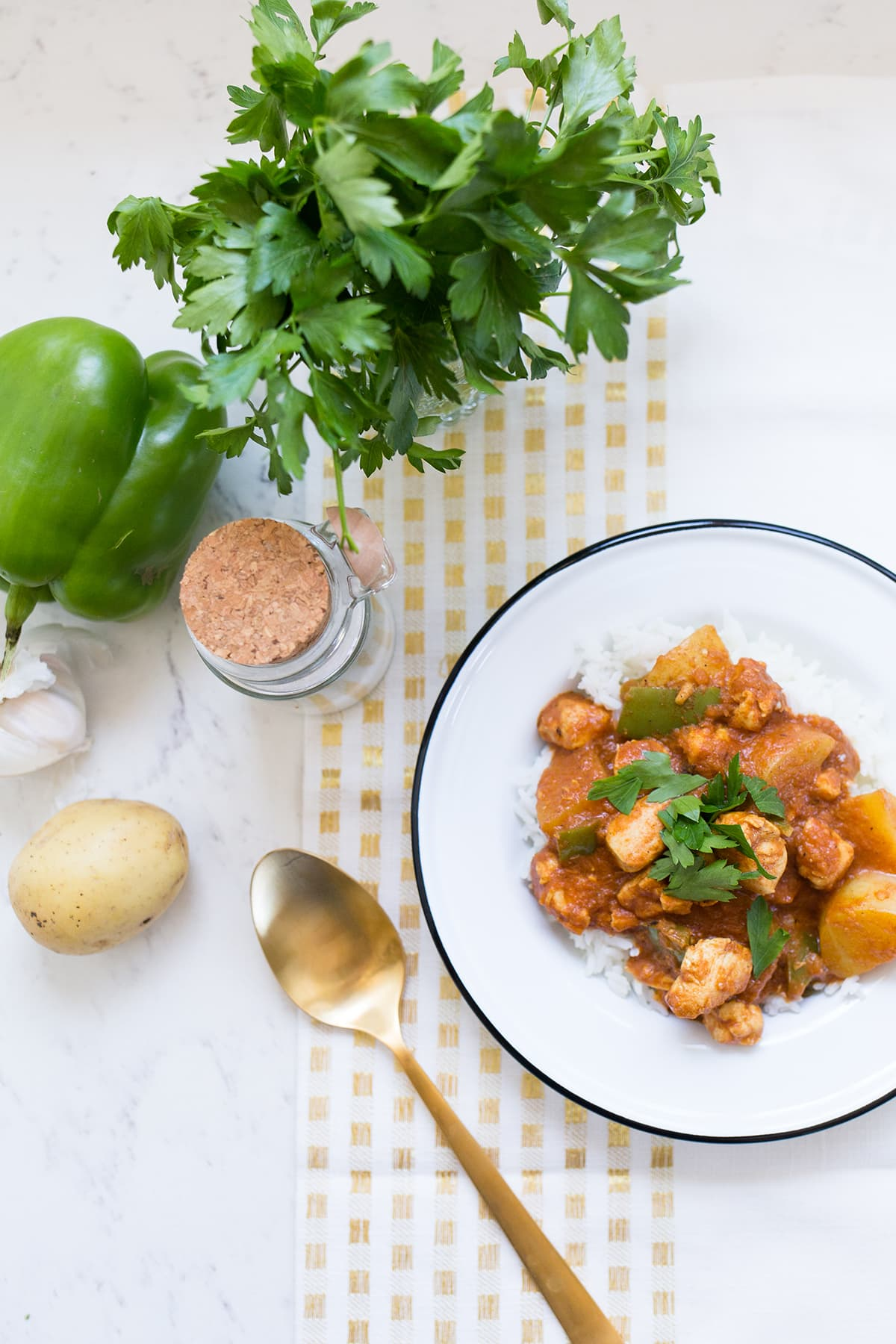 One Pot Chicken Coconut Curry