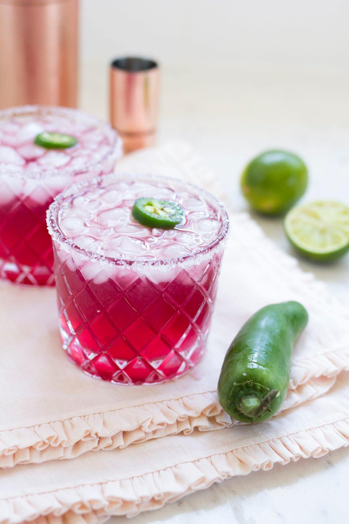 Spicy Pomegranate Margarita
