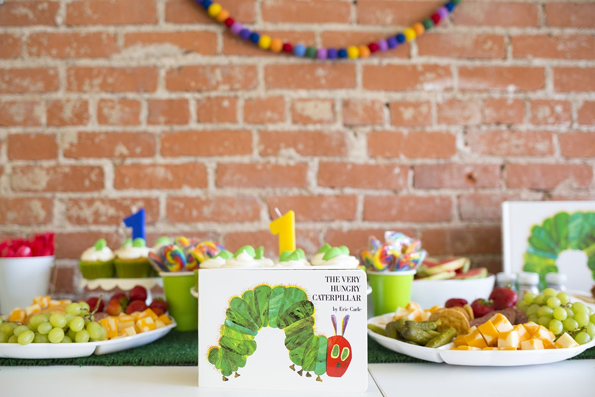 Very Hungry Caterpillar Themed 1st Birthday Party