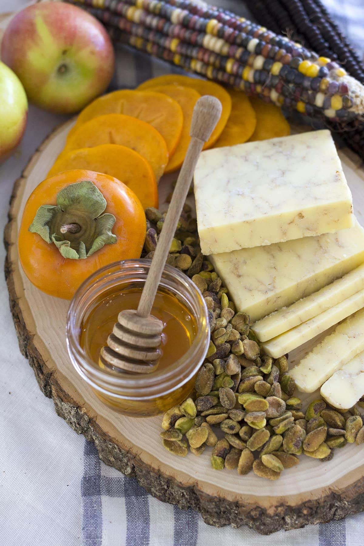 Fall Inspired Cheese Board Freutcake