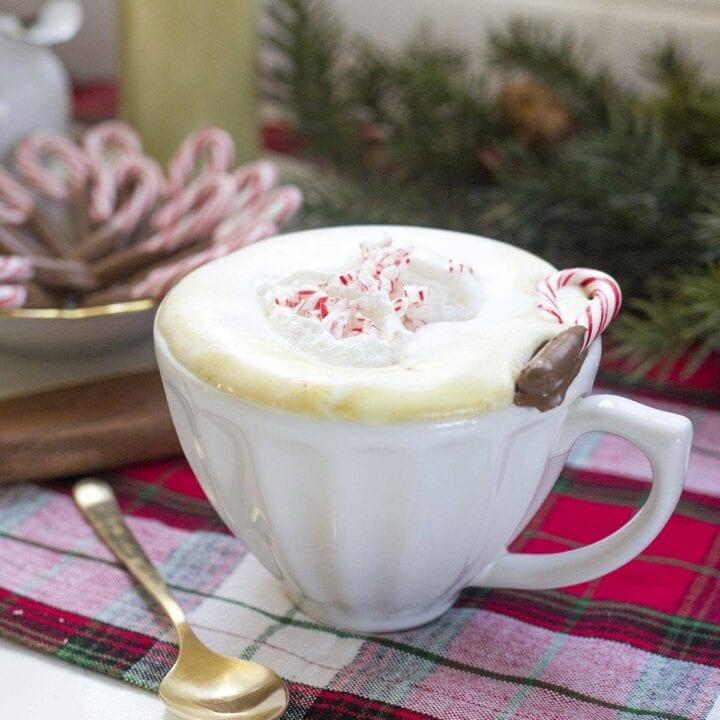 Homemade Peppermint White Mocha Recipe