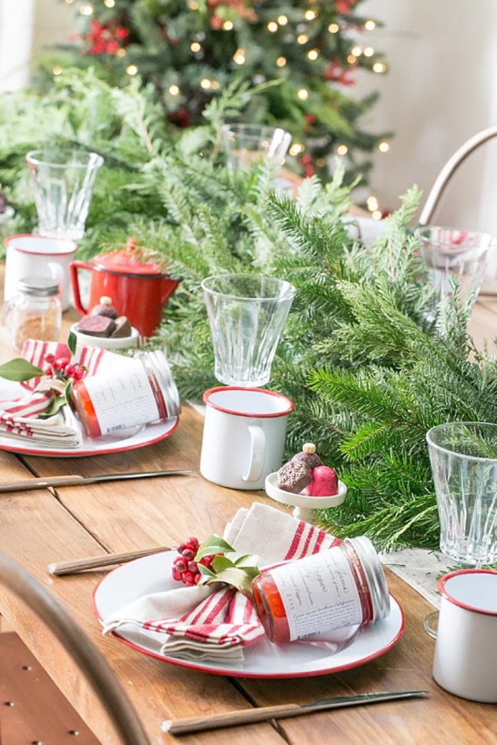 Make And Take Room In A Box Elizabeth Farm: 10 Inspiring Christmas Table Ideas