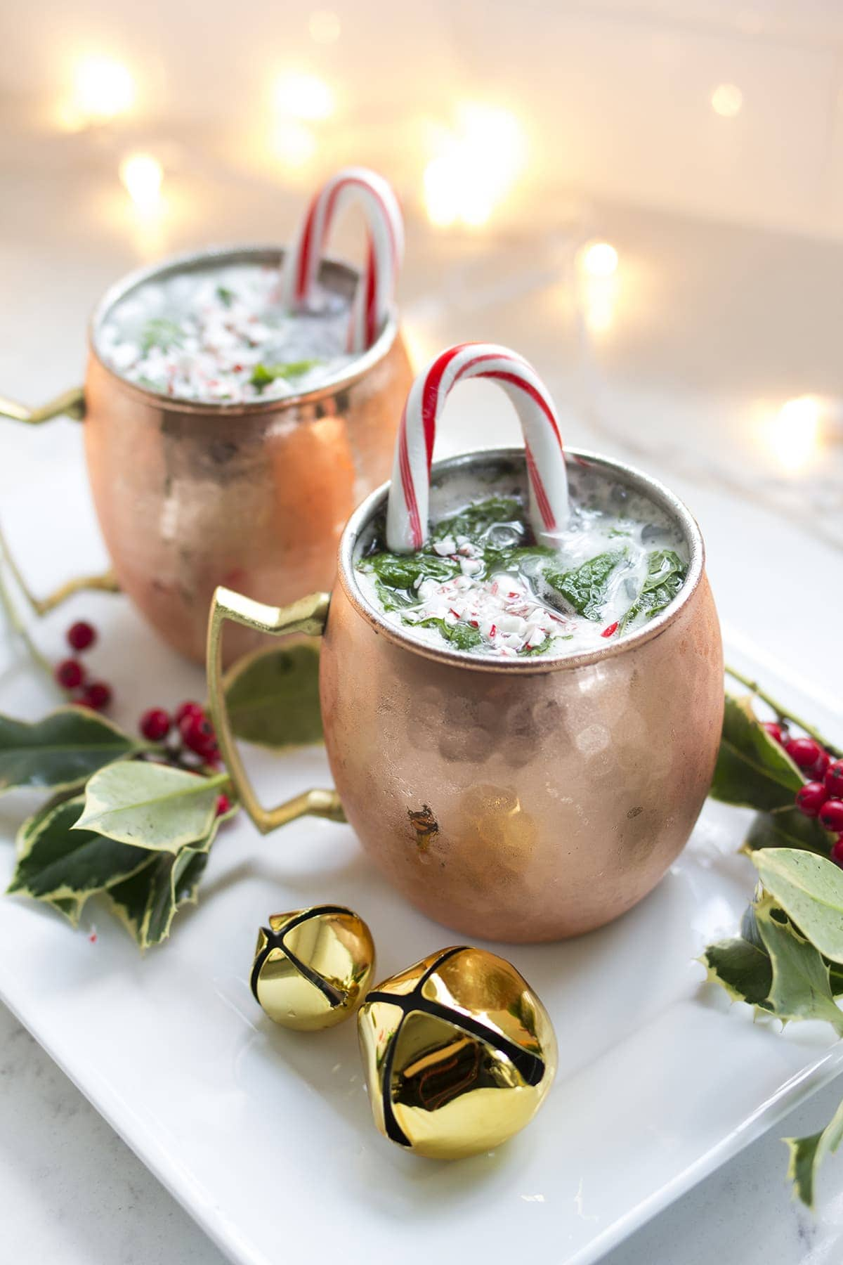 Moscow Reindeer Cocktails