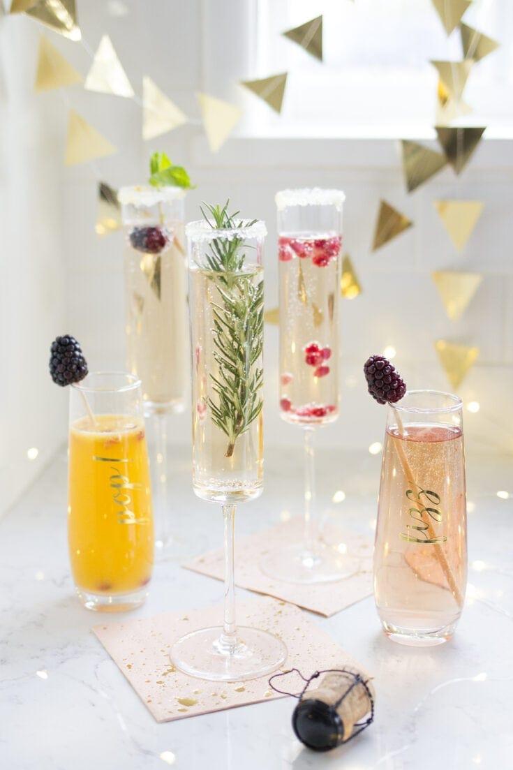 New Years Eve Champagne Bar