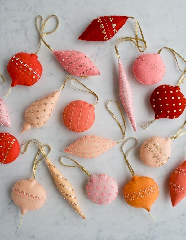 10 Handmade Christmas Ornaments