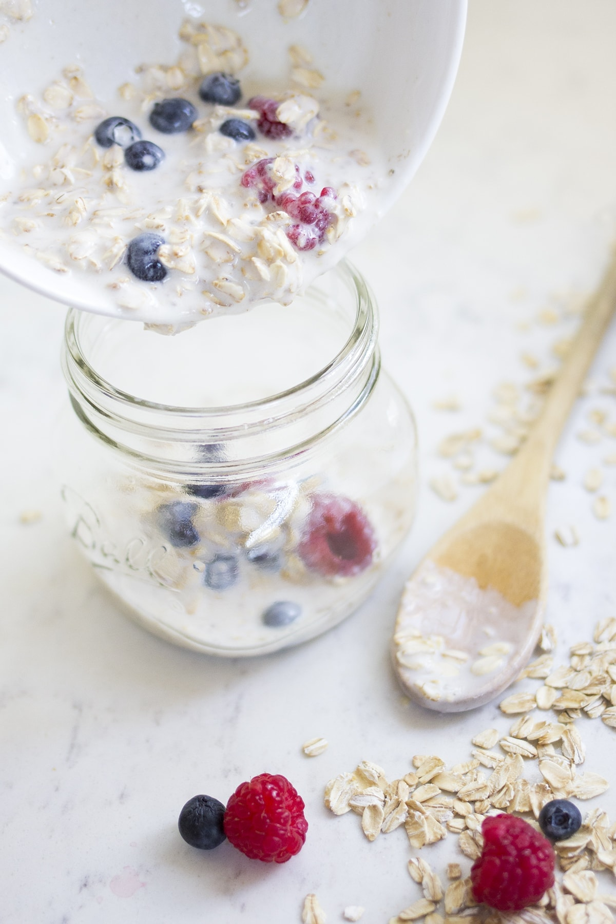 Chia Berry Overnight Oats