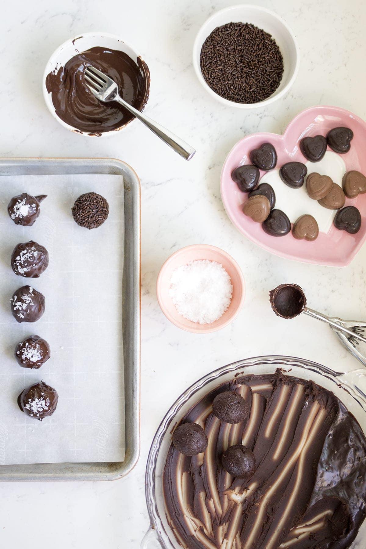 Dove Salted Dark Chocolate Truffles