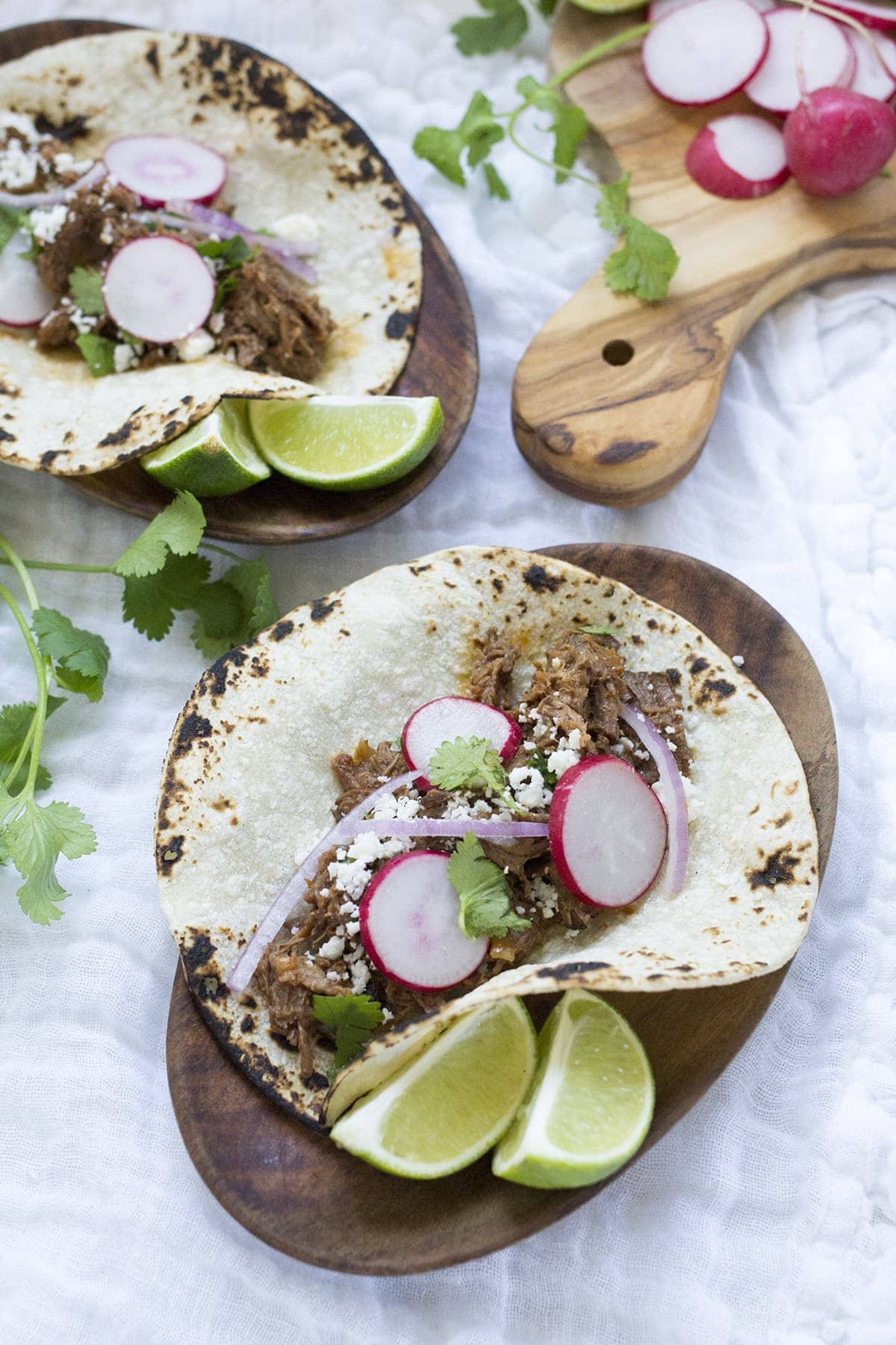 Crockpot Shredded Beef Tacos