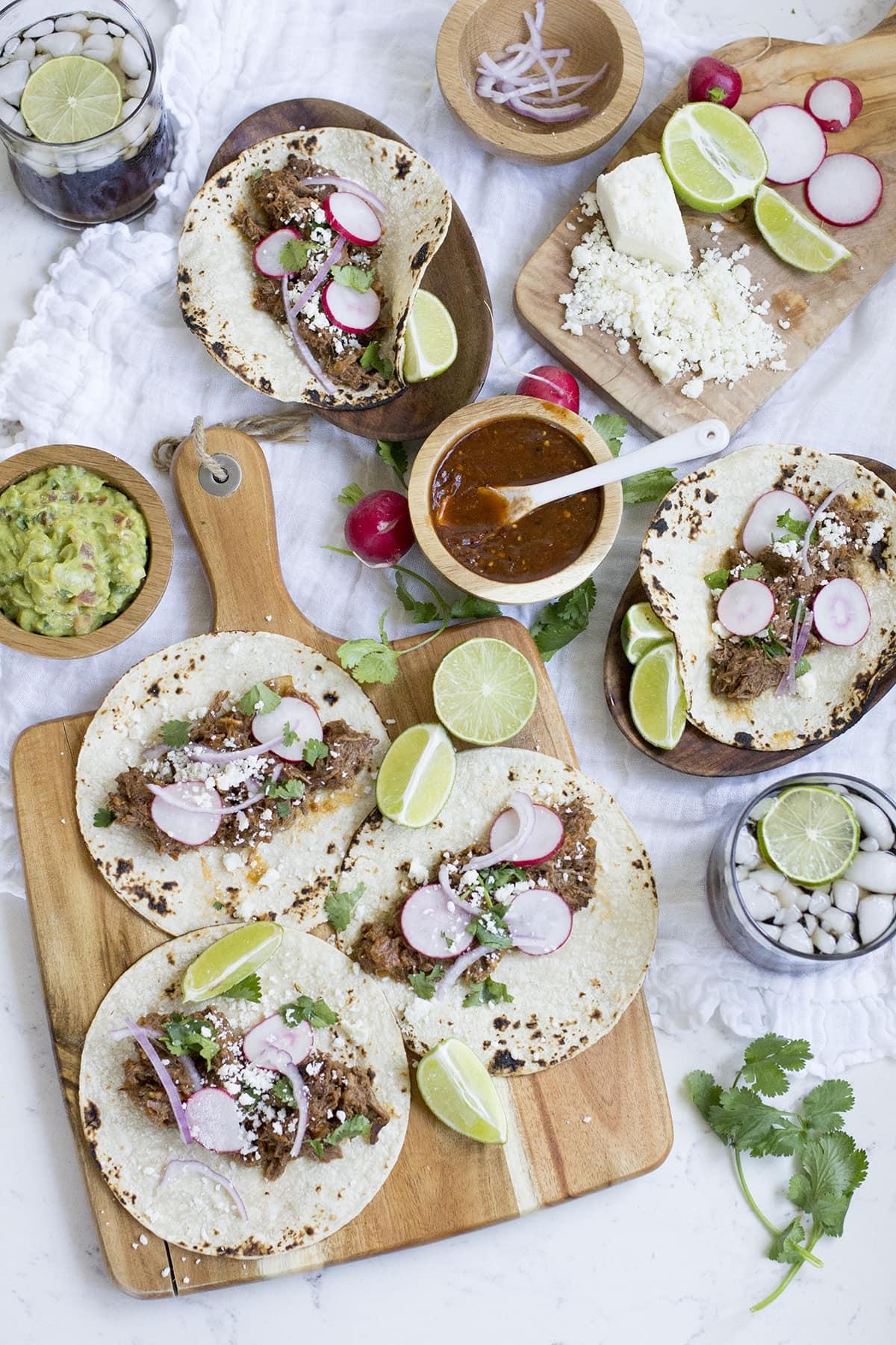 Crockpot Shredded Beef Tacos