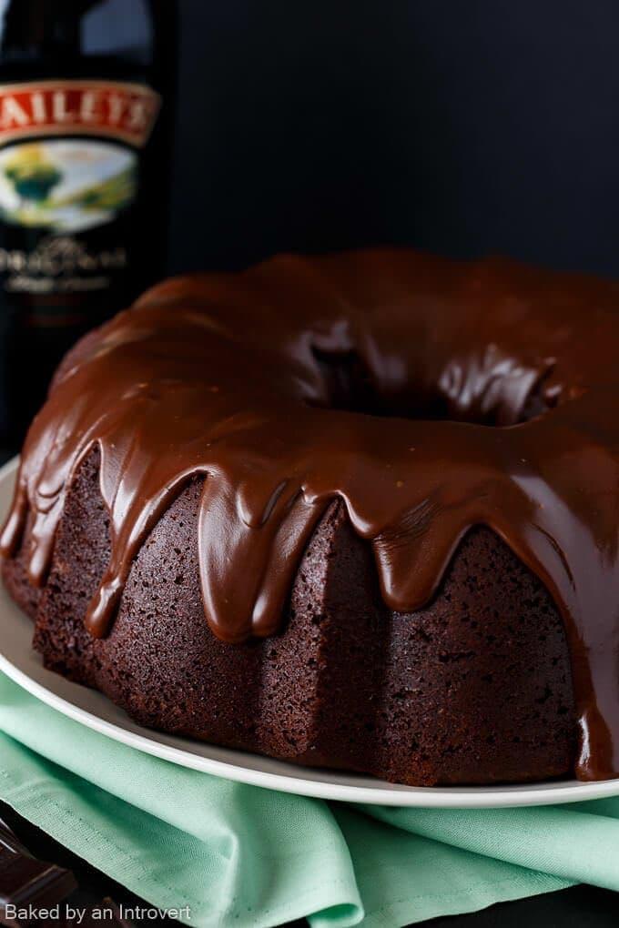 Irish coffee bundt cake