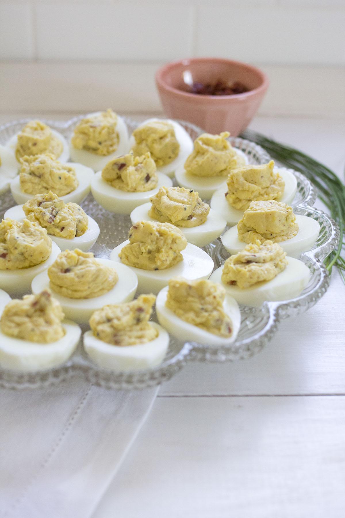 Italian Deviled Eggs