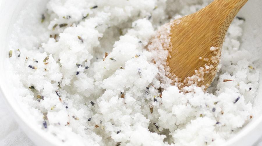 Lavender Coconut Body Scrub