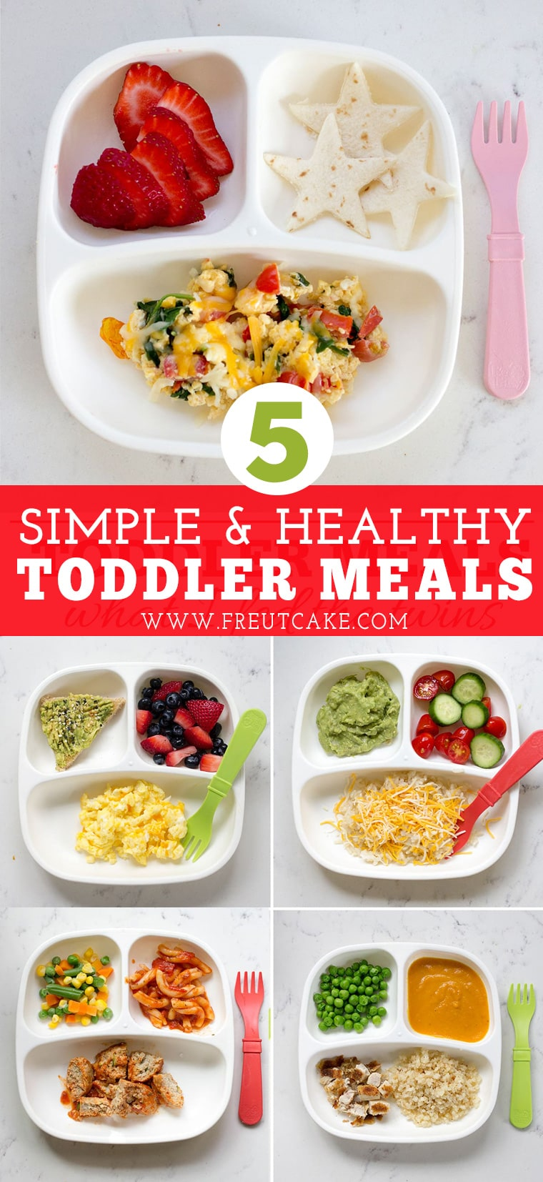 Simple and Healthy Toddler Meal Ideas