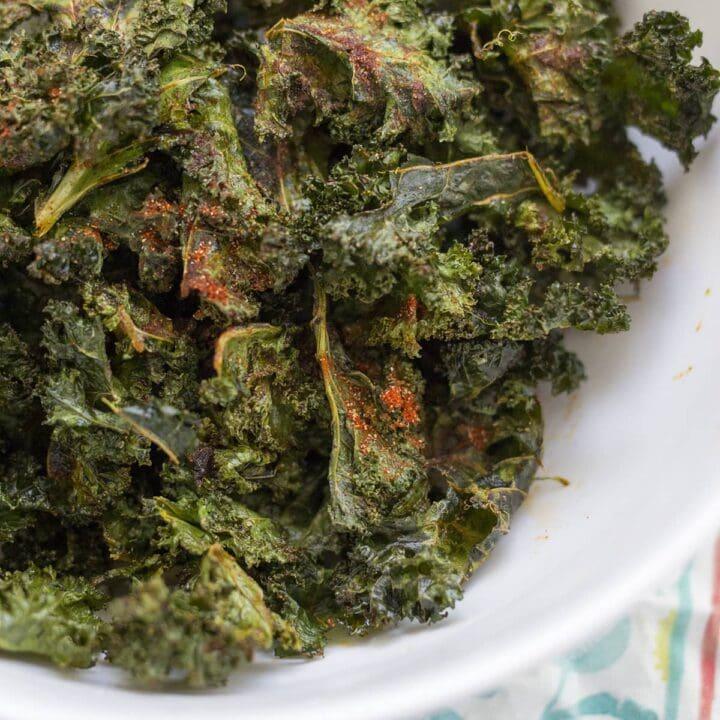 Crispy Barbecue Kale Chips 7