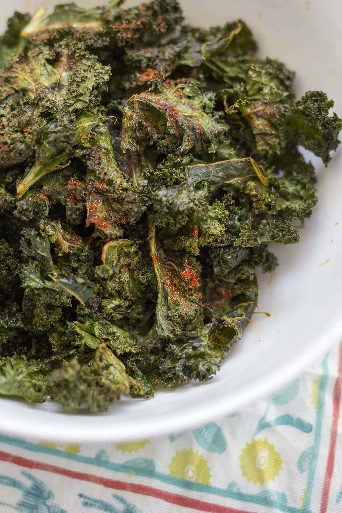 Crispy Barbecue Kale Chips 7