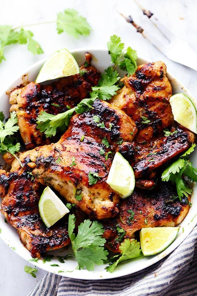 Grilled Cilantro Lime Chicken