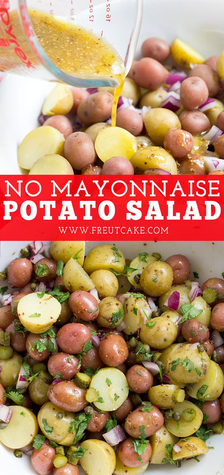 No Mayonnaise Potato Salad