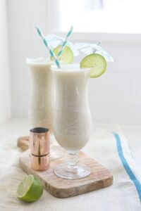Frozen Banana Cocktails