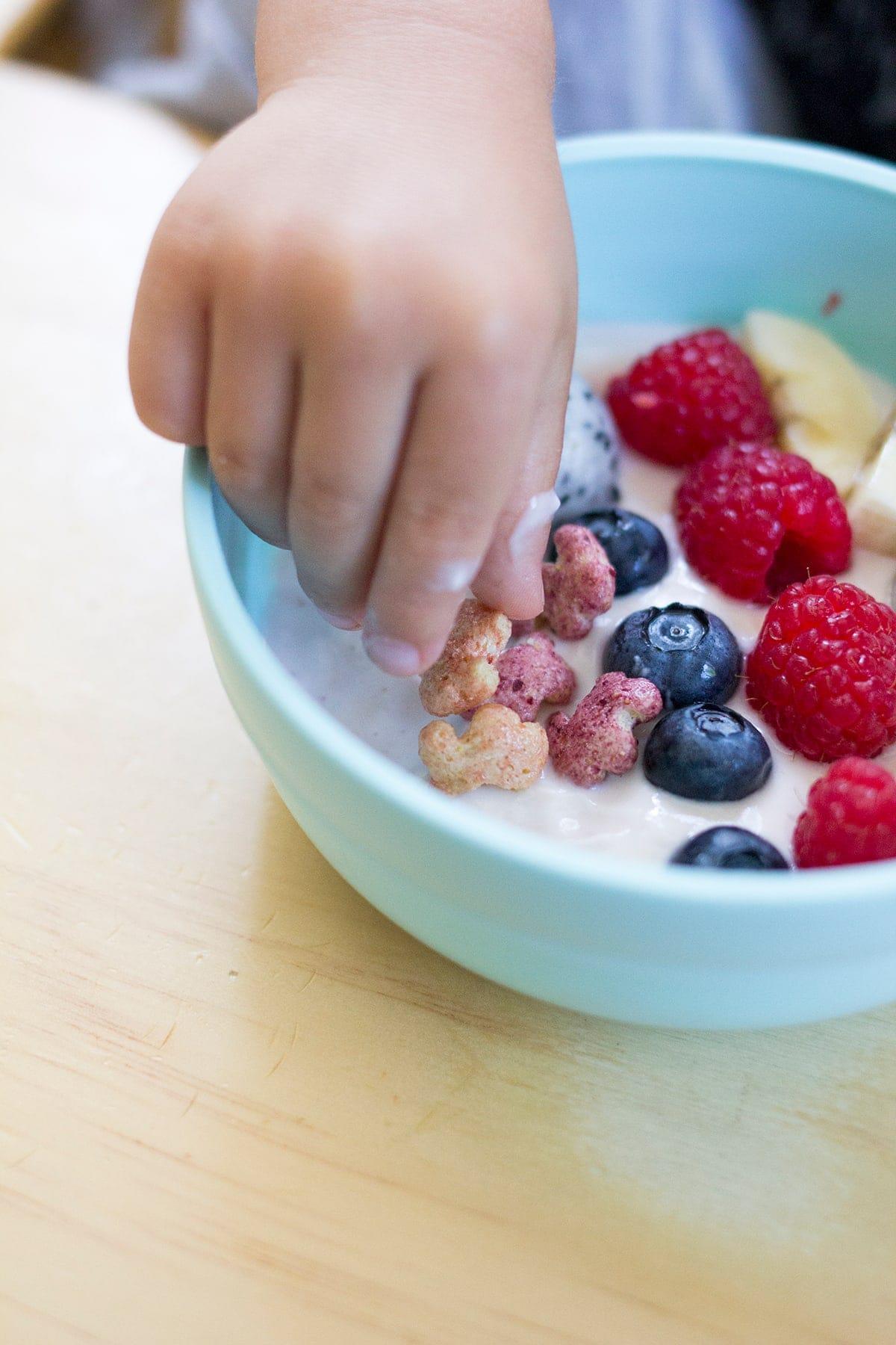 Rainbow Yogurt Bowls