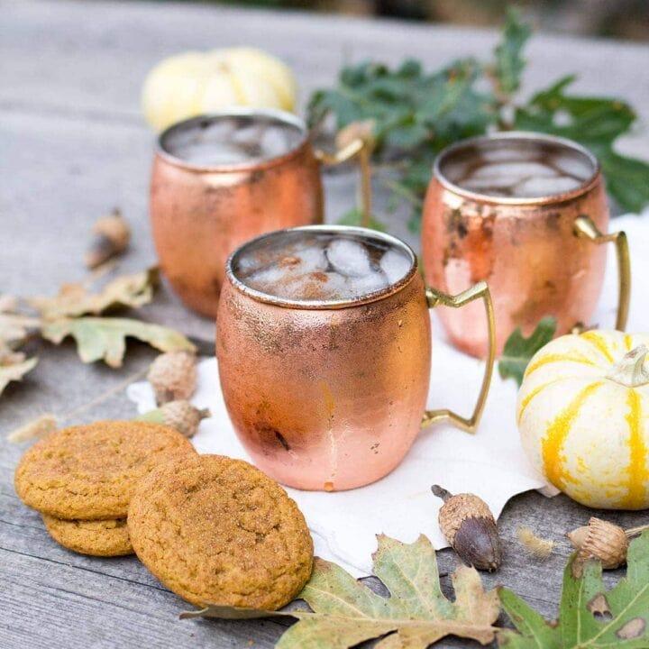 Pumpkin Spice Mules
