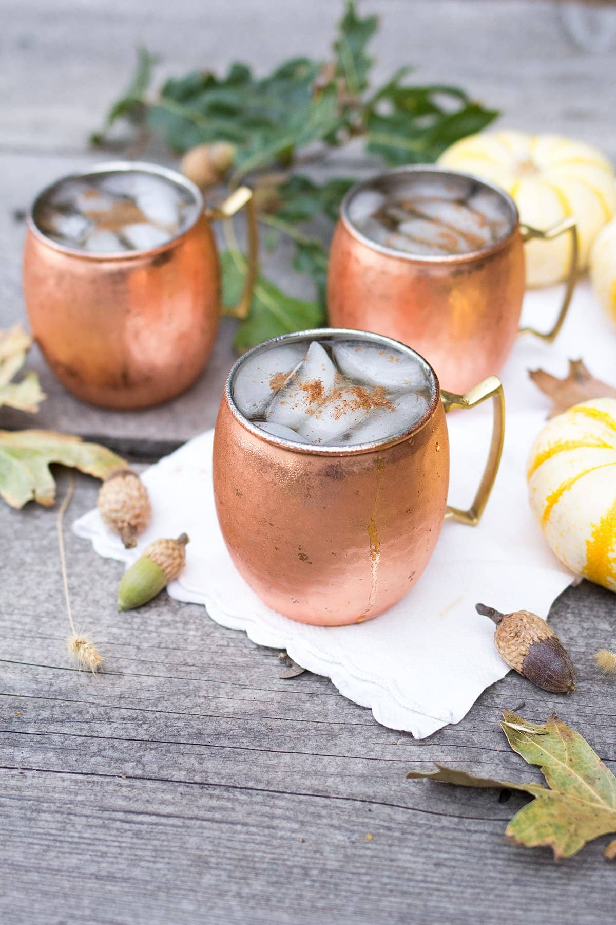 Pumpkin Spice Moscow Mules