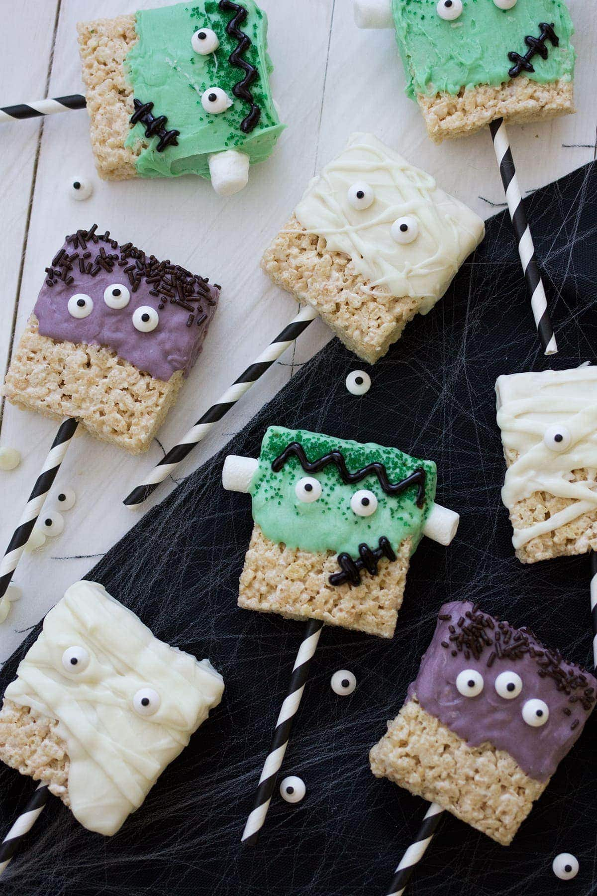 Monster Rice Krispies Treats