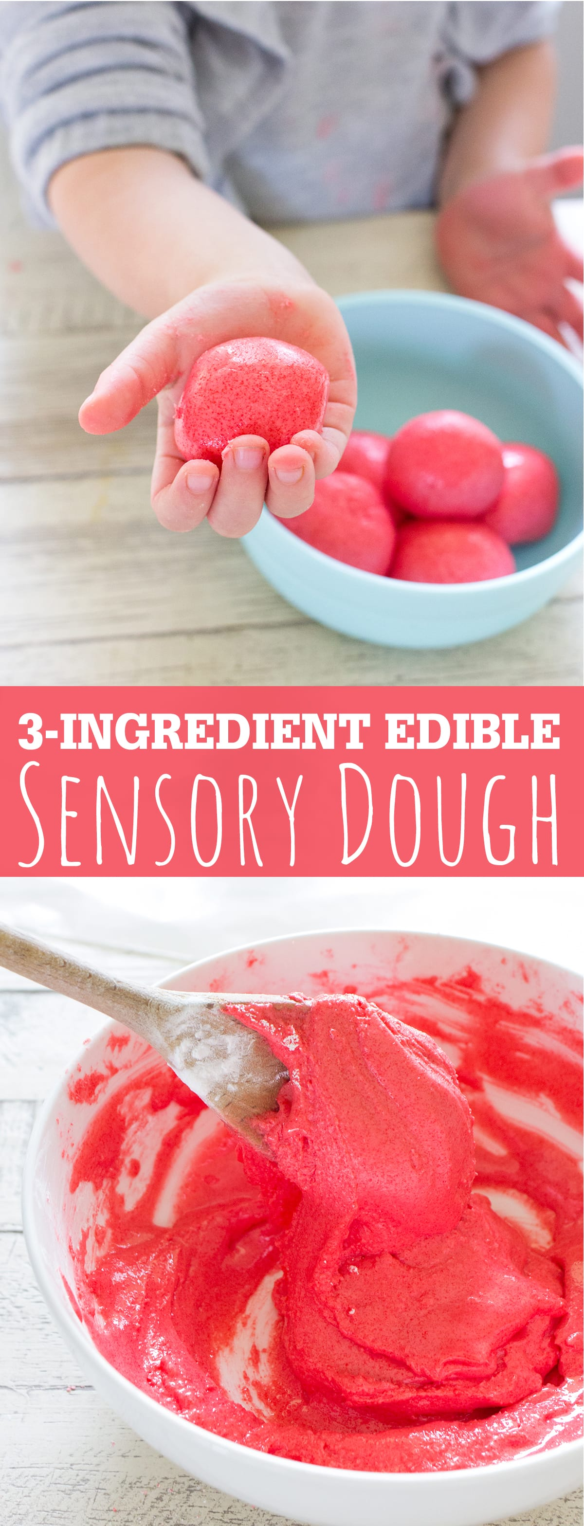3 Ingredient Edible Sensory Dough