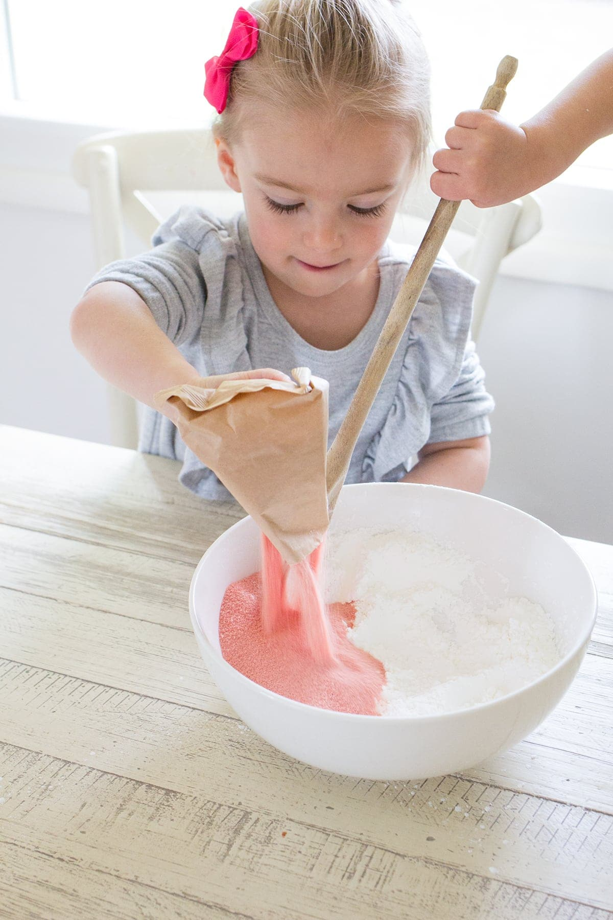 Three Ingredient Edible Sensory Dough