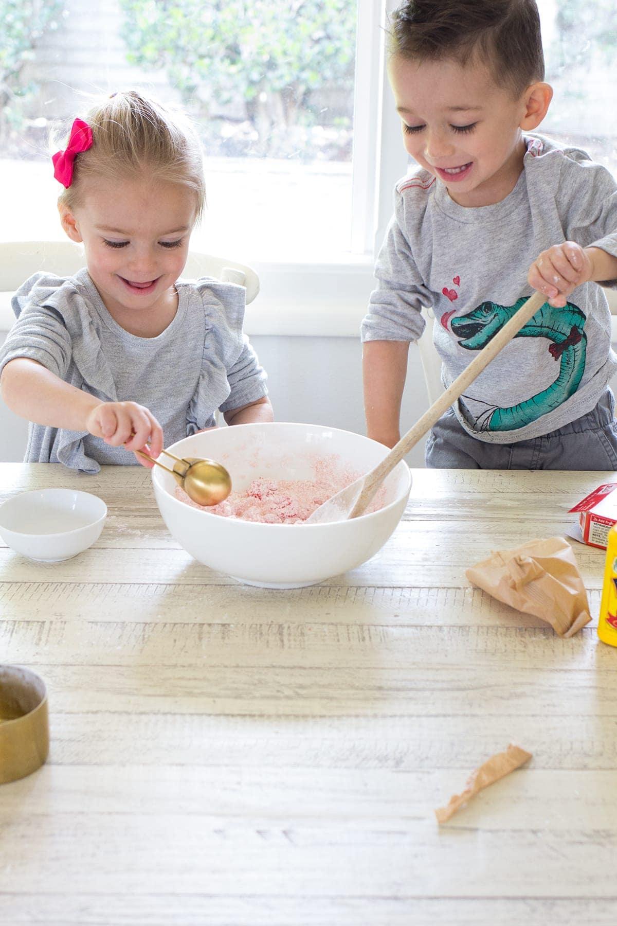 Three Ingredient Edible Sensory Dough