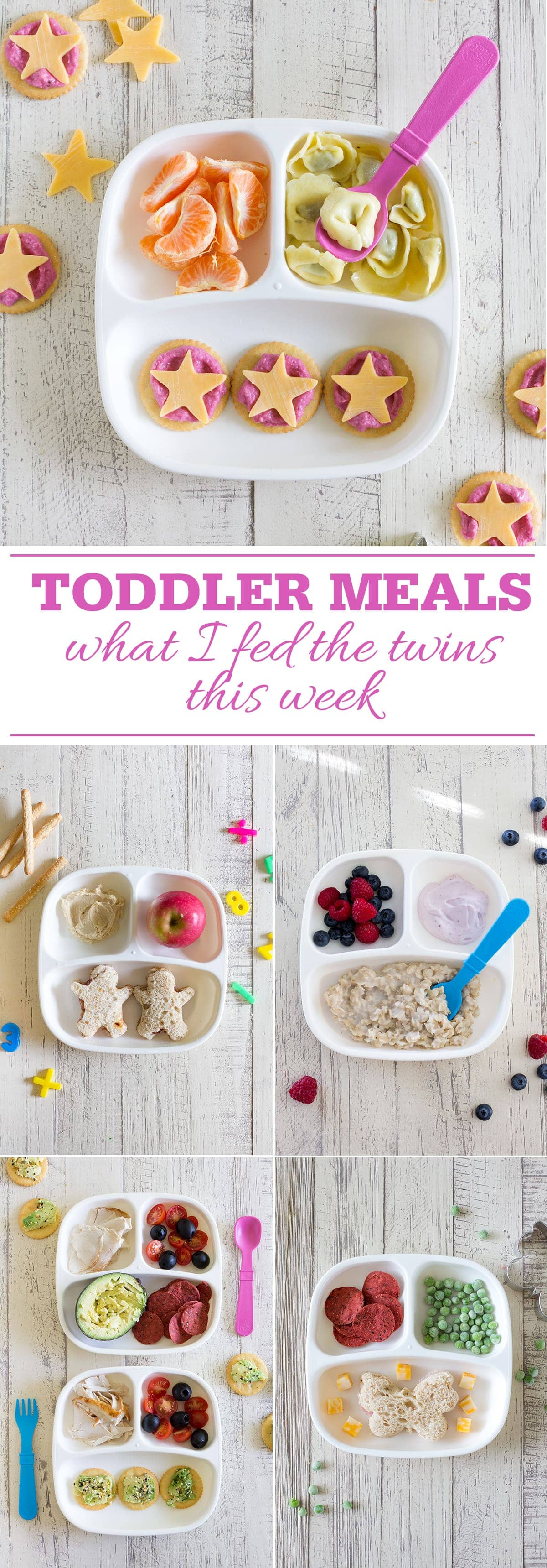 Toddler Meals: What I fed the twins this week. Healthy kid meals you can make for your toddlers or school age kids that are healthy, fun and delicious!