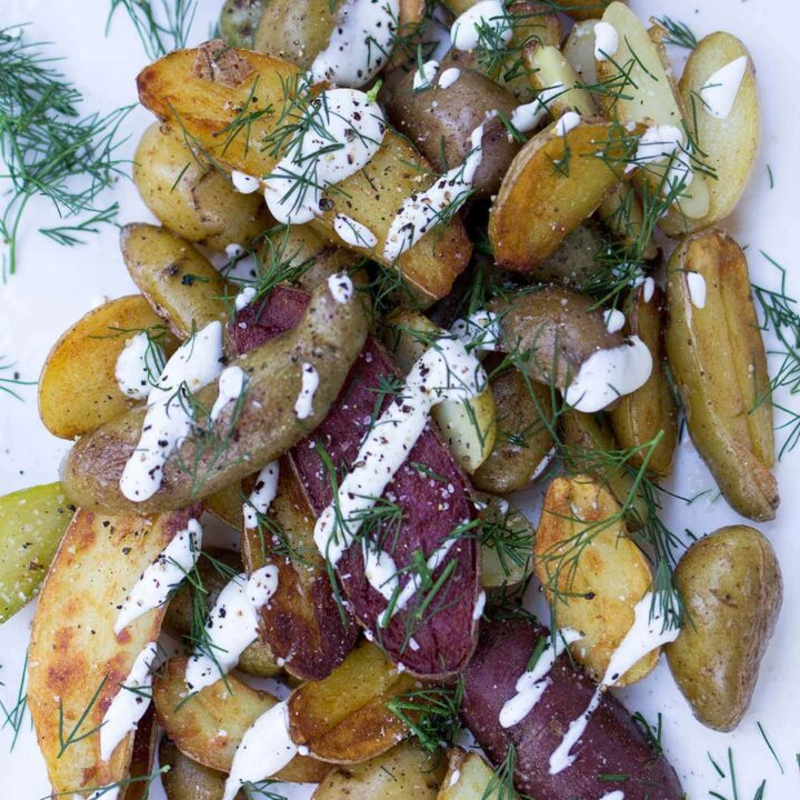 Creamy Dill Fried Potatoes