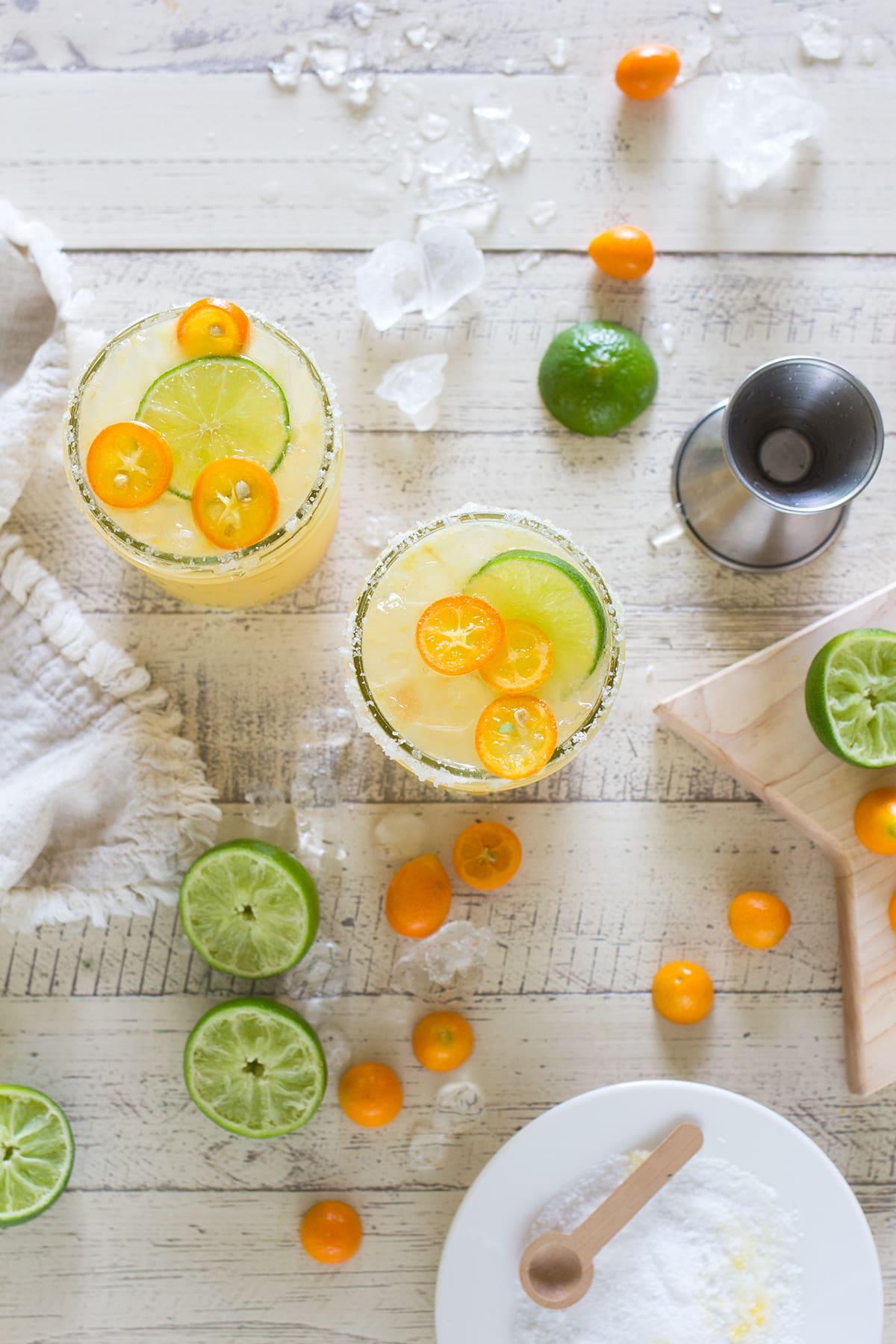 Kumquat Kombucha Margarita