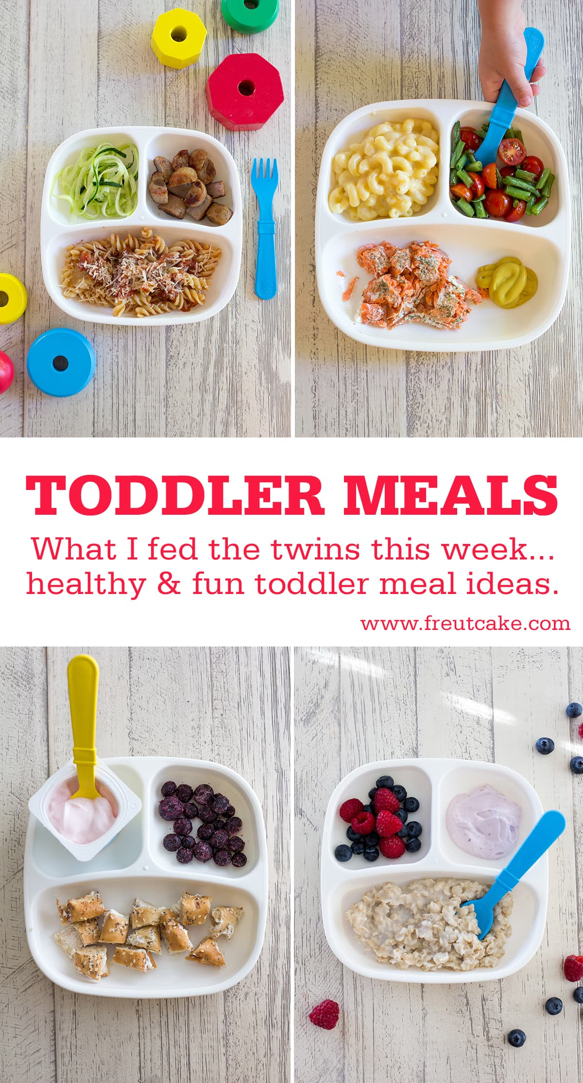 A weeks worth of healthy and real toddler meals that I fed the twins this week including dinner ideas for the whole family!