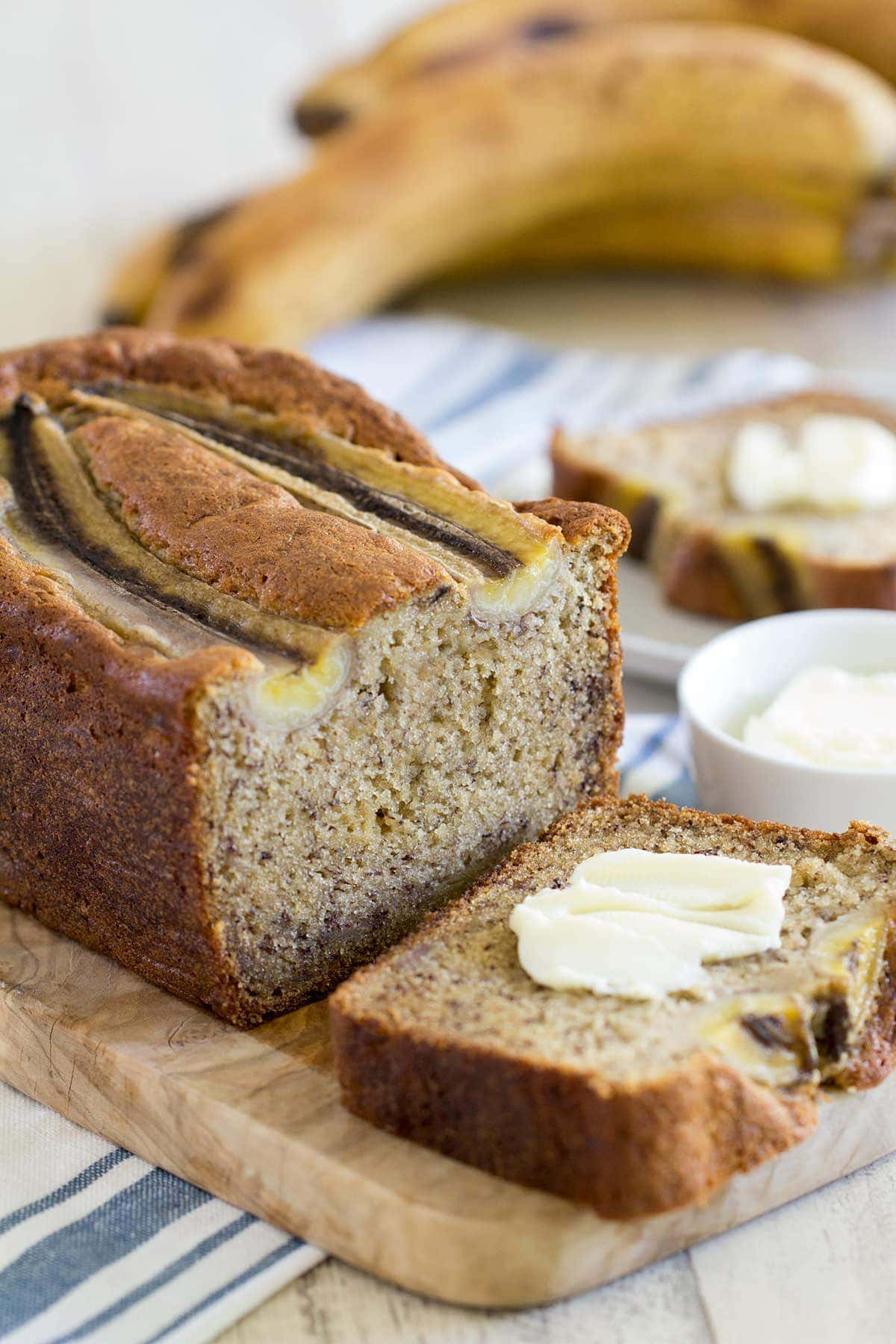 This recipe is for the very best sour cream banana bread that is very moist, flavorful and delicious! The pefect classic banana bread.