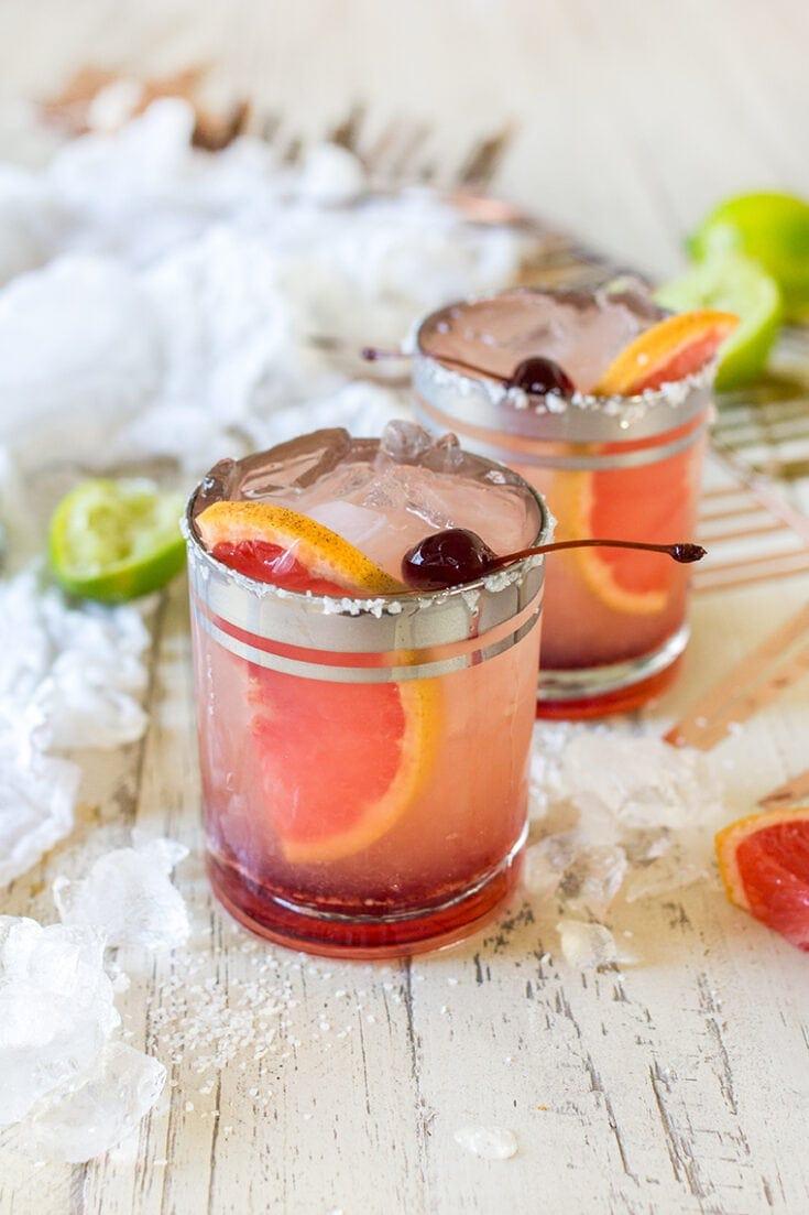 Elderflower Grapefruit Margarita