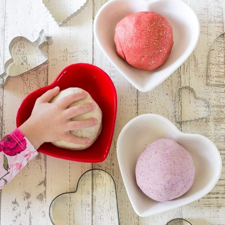 Valentines Day Scented Playdough