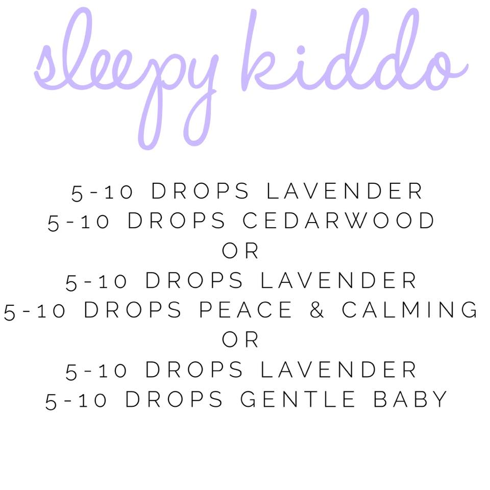 Sleep Roller Blends for Toddlers