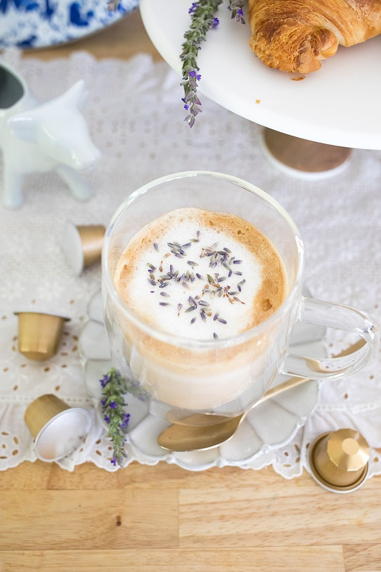 Lavender Honey Latte Recipe William Sonoma Coffee Capsules