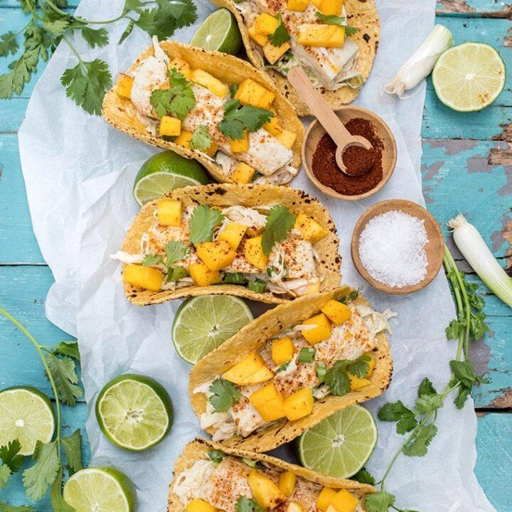 Mahi Mango Fish Tacos