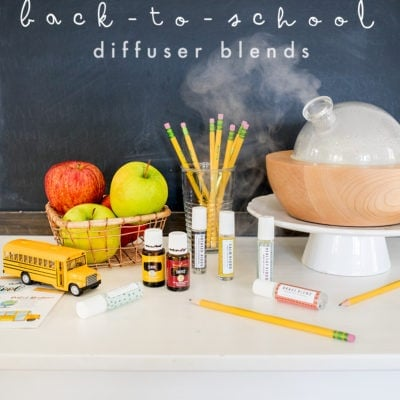 Six Back to School Diffuser Blends