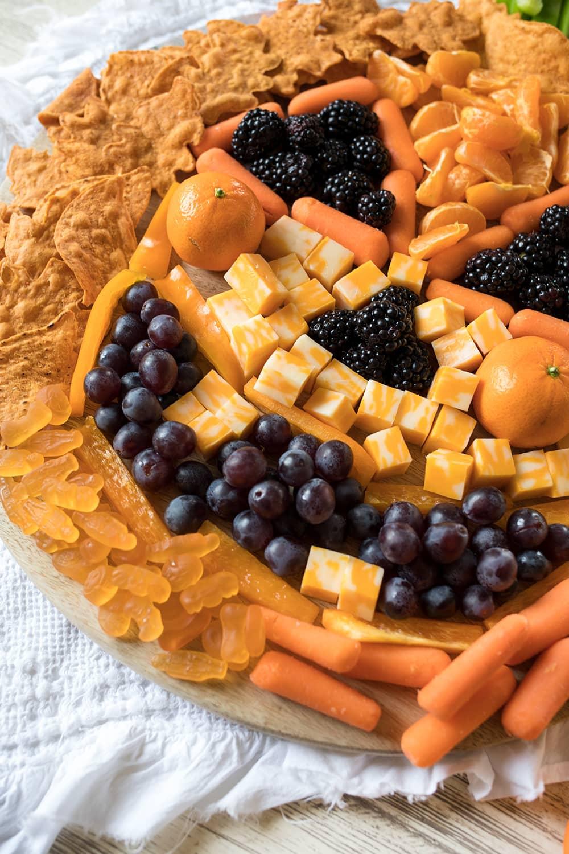 Jack O Lantern Snack Board