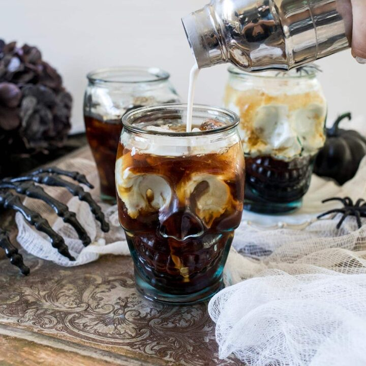 Halloween Coconut White Russians