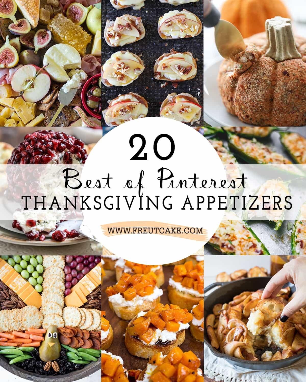 20 Best of Pinterest Thanksgiving Appetizers
