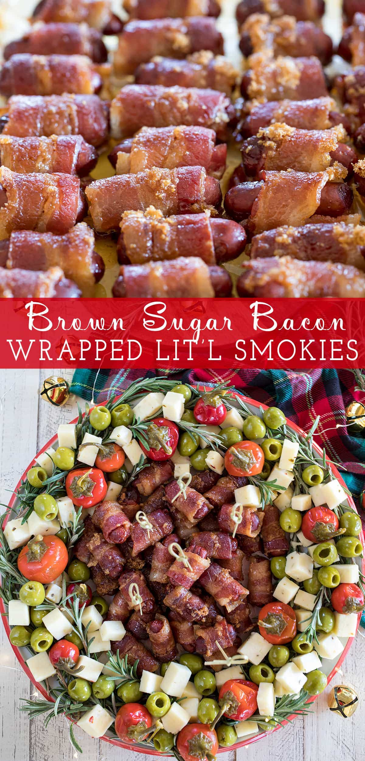 Brown Sugar Bacon Wrapped Little Smokie's