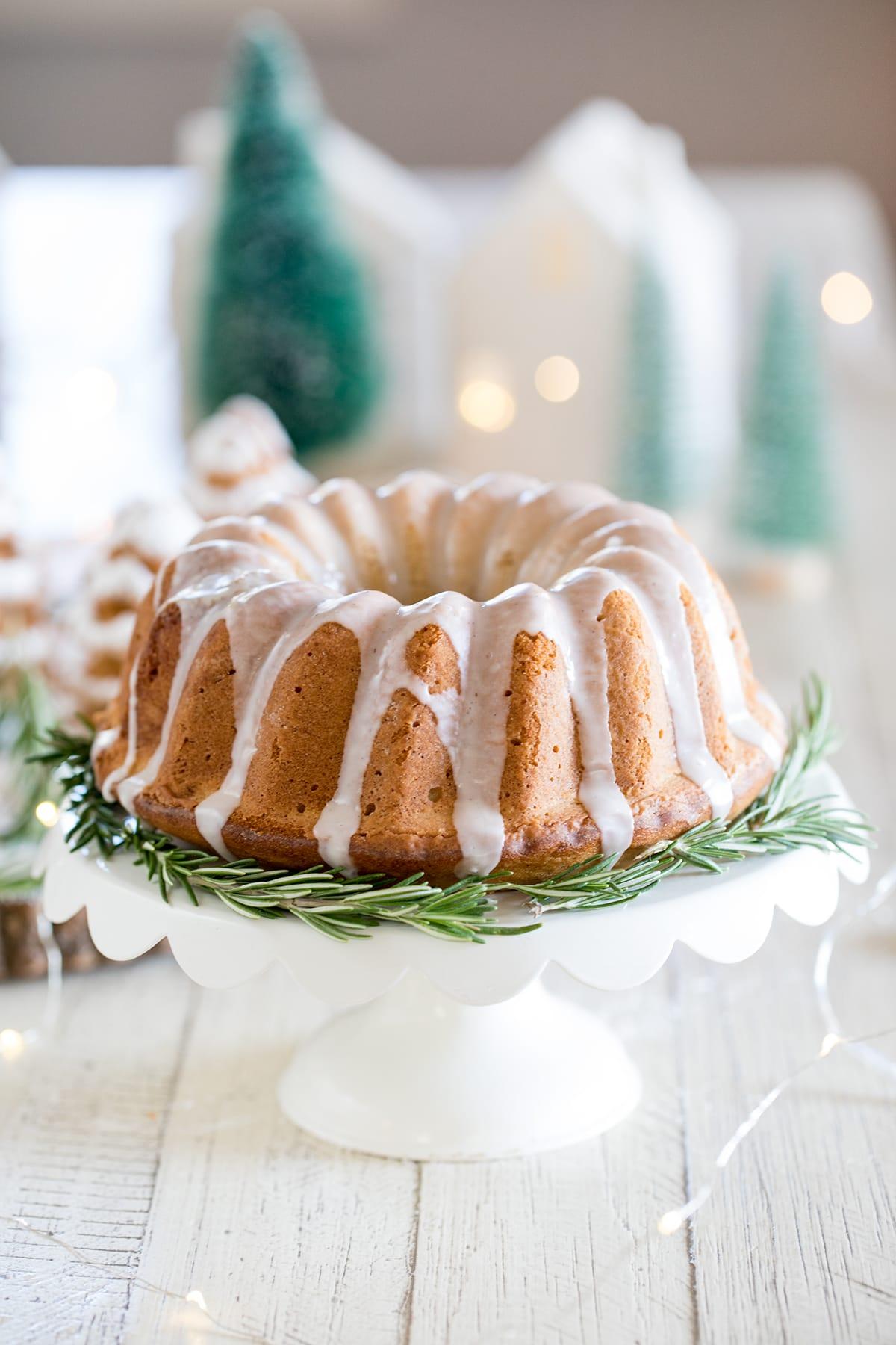 Bourbon Brown Sugar Cake