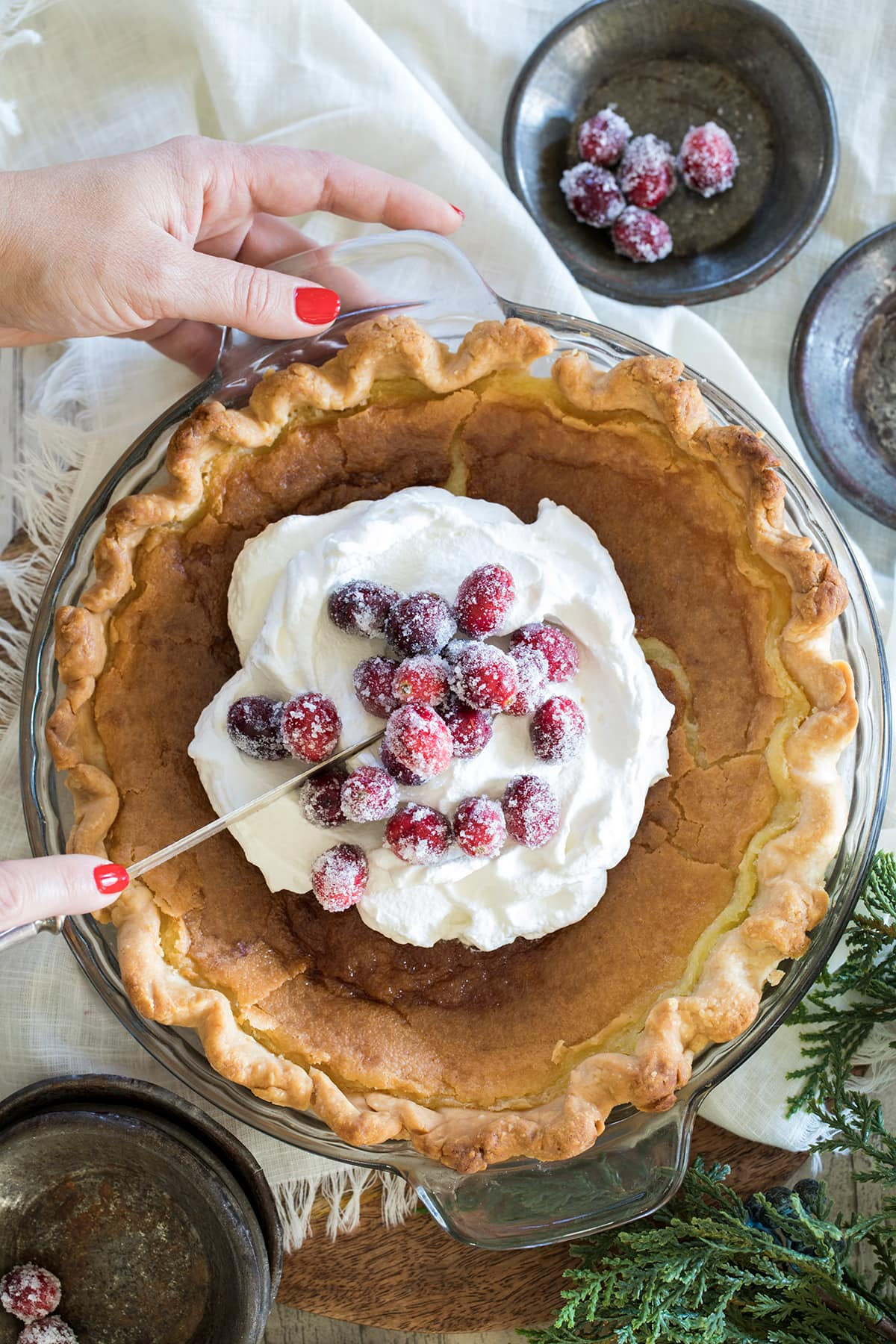 Classic Southern Transparent Pie
