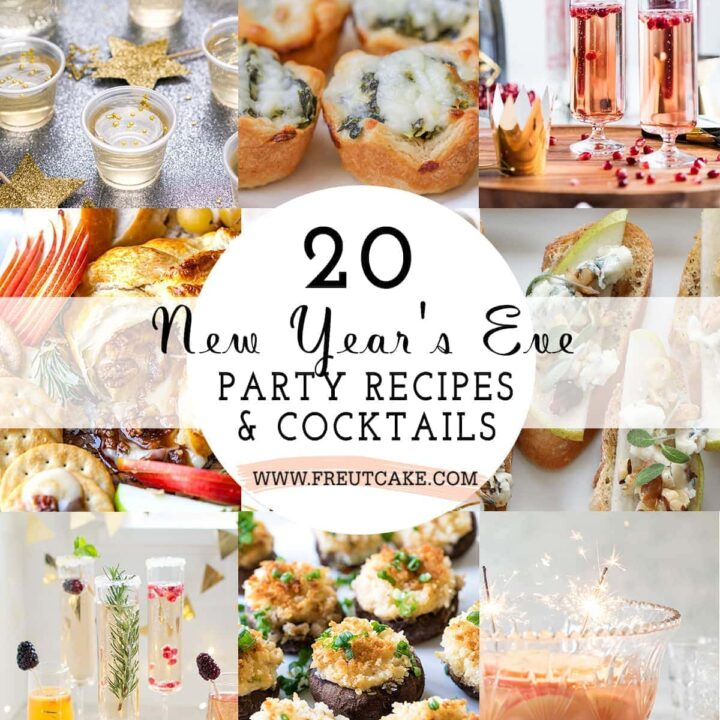 20 NEW YEAR'S EVE PARTY RECIPES AND COCKTAILS