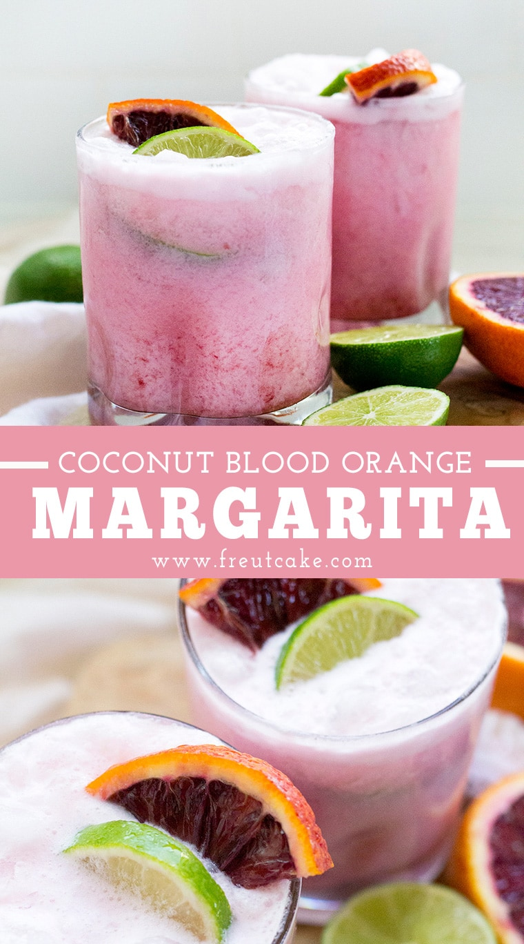 Coconut Blood Orange Margarita Recipe